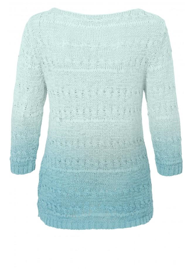 Pullover im Dip-Dye-Look /