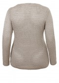 """Lässig-eleganter Pullover """"Pure Comfort"""" mit Lurex /"""