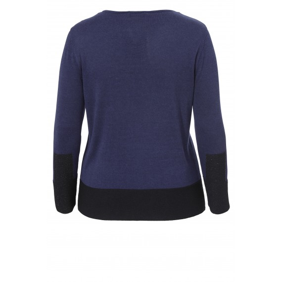 Moderner Colour Blocking-Pullover /