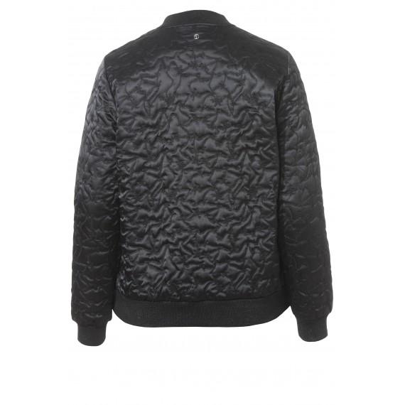 Coole Bomber-Jacke mit Stickerei-Muster /