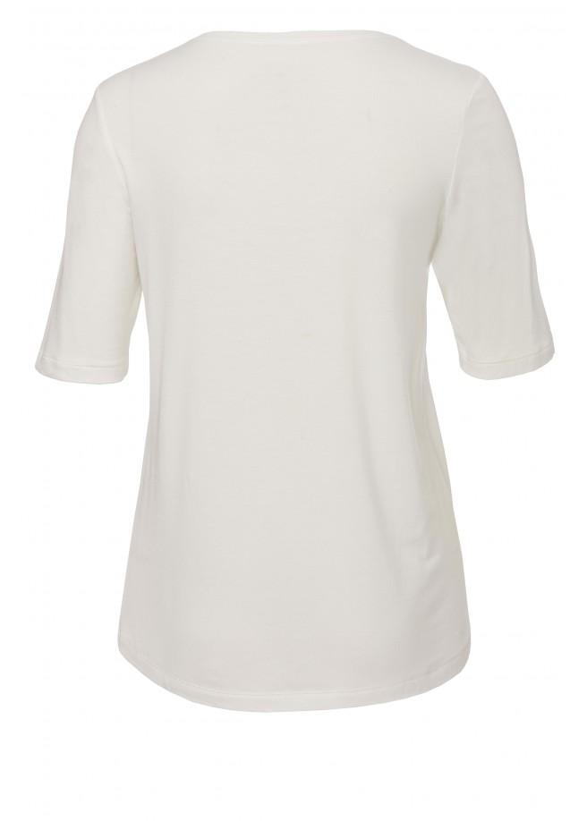 Sommerliches Statement-Shirt mit Muster /