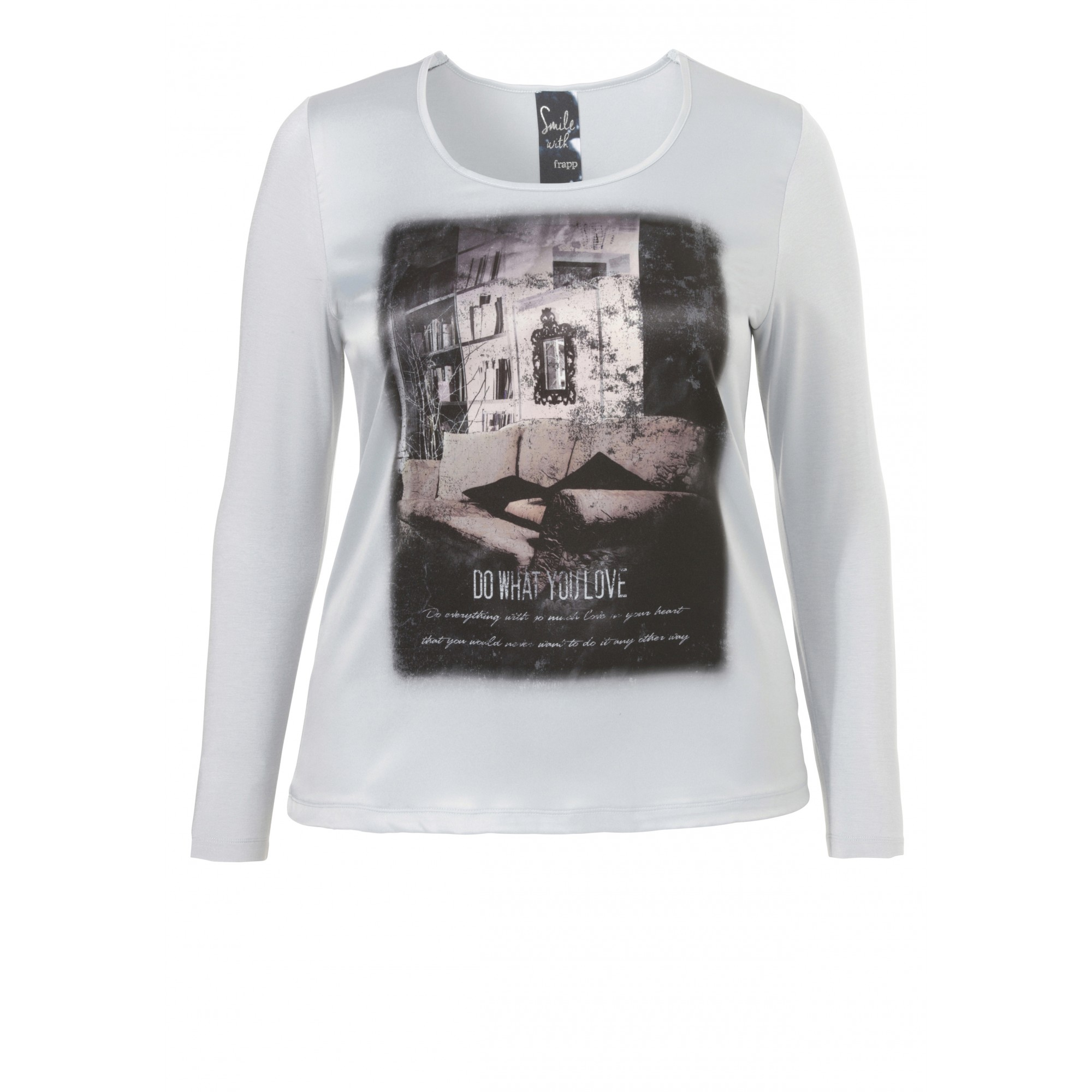 Supersoftes Viskose-Shirt mit Mystik-Print