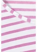Tunika-Shirt mit Ringel-Muster /