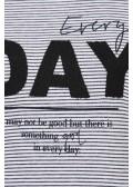 Lässiges Sweatshirt mit Motto-Print /