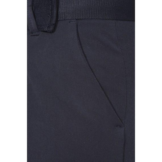 Schmale Hose mit Bügelfalten /