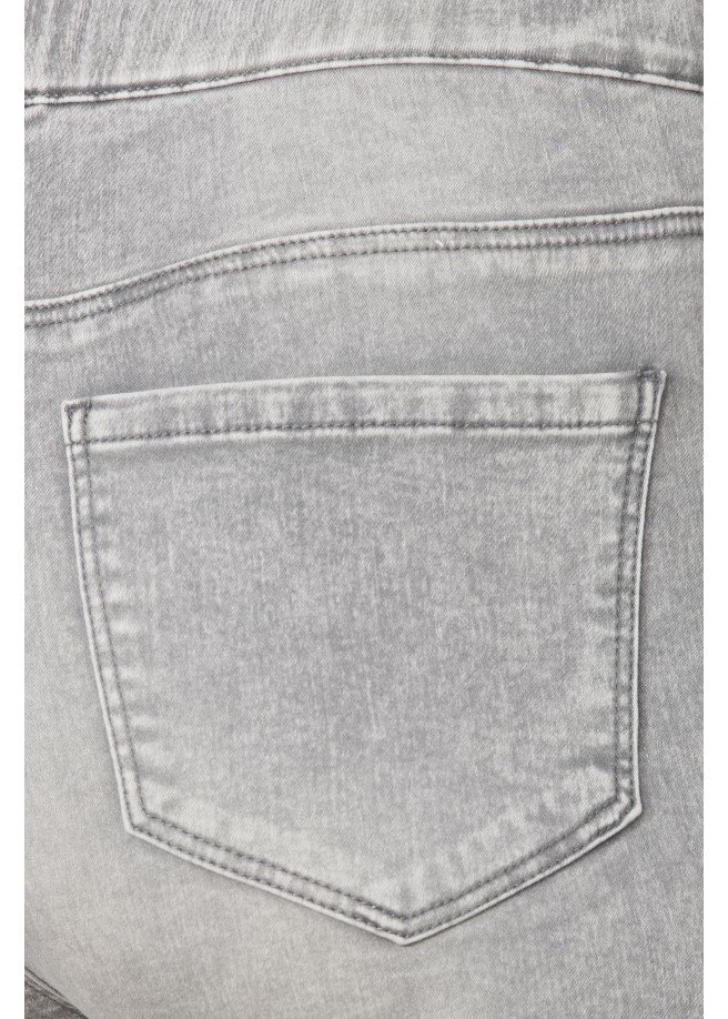 Bequeme Jeans im Used-Look /