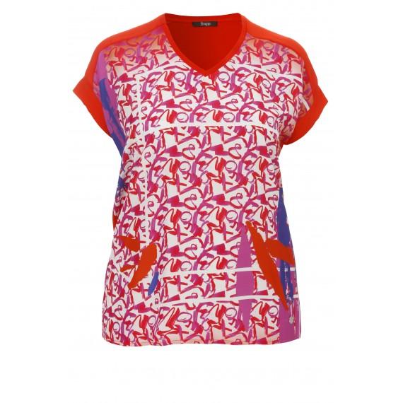 Leichtes T-Shirt mit grafischem Front-Print /