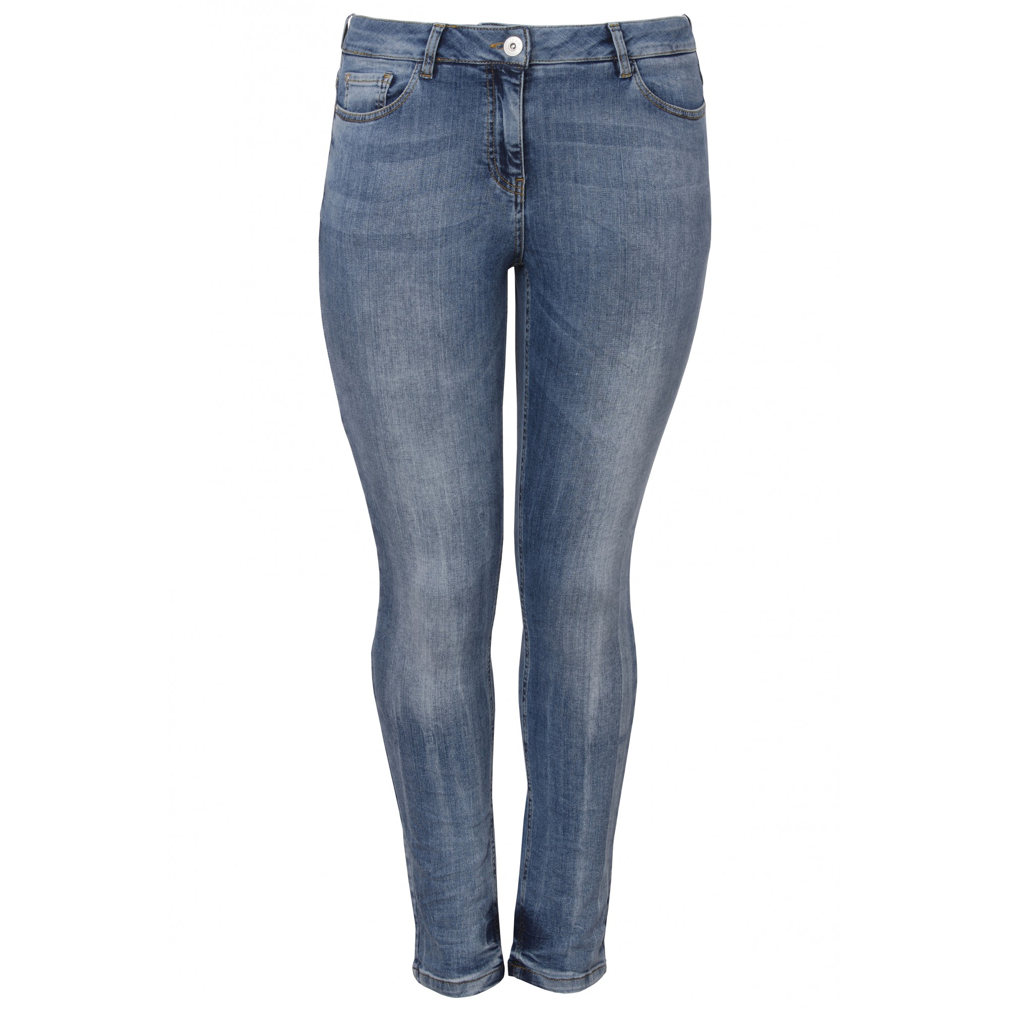 - Lässige Jeans mit Waschung