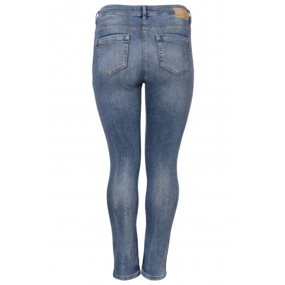 Lässige Jeans mit Waschung /
