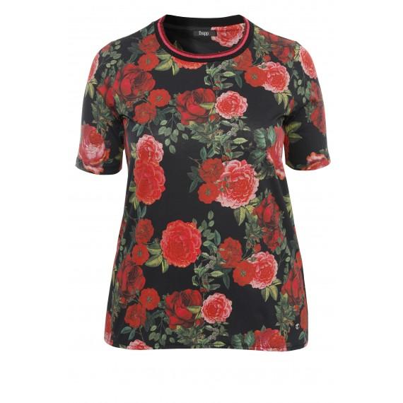 Romantisches T-Shirt mit Muster /