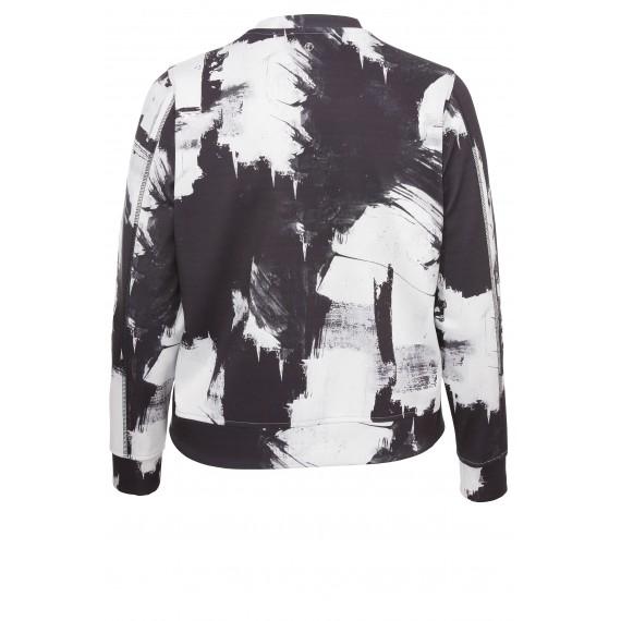 Modische Jacke mit Muster /