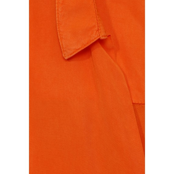 Legere Bluse mit verlängerter Rückseite /