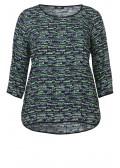 Luftiges Blusen-Shirt mit Print /