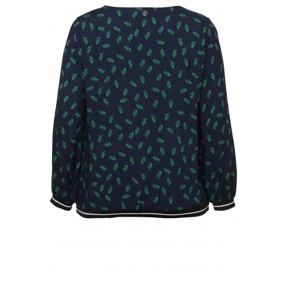 Feminines Blusen-Shirt mit Print /