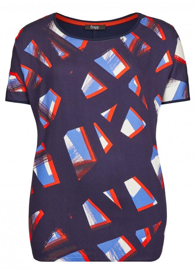 Aufregendes T-Shirt mit Front-Druck /
