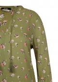 Verspielte Bluse mit Allover-Print /