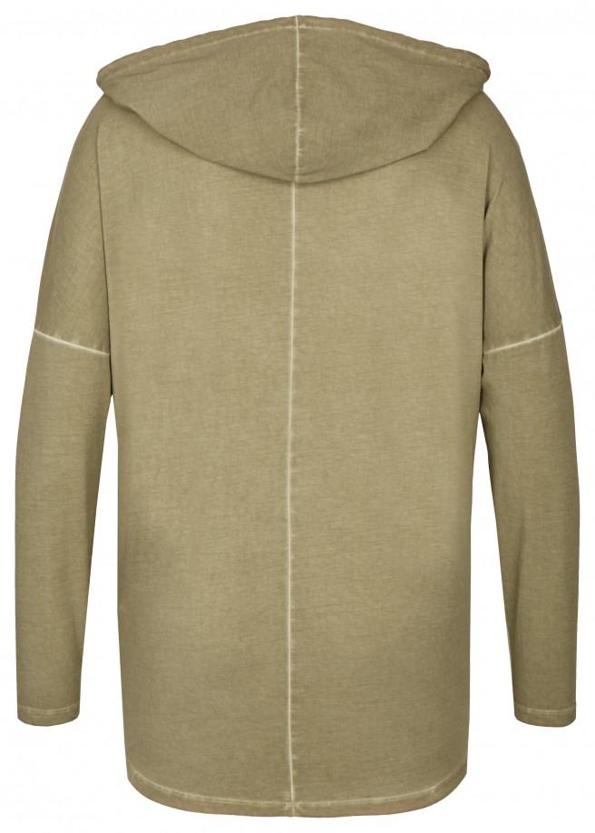 Raffinierte Jacke mit Kapuze /