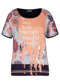Angesagtes T-Shirt mit Statement-Print /