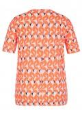 Aufregendes T-Shirt mit Flamingo-Print /