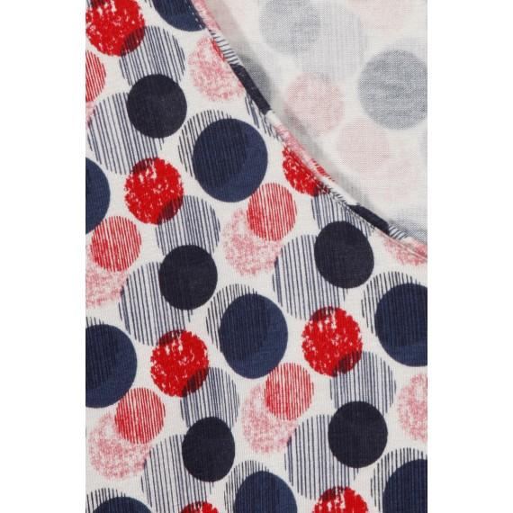 Zartes Shirt mit Dot-Muster /