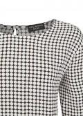 Luftige Bluse mit Punkten /