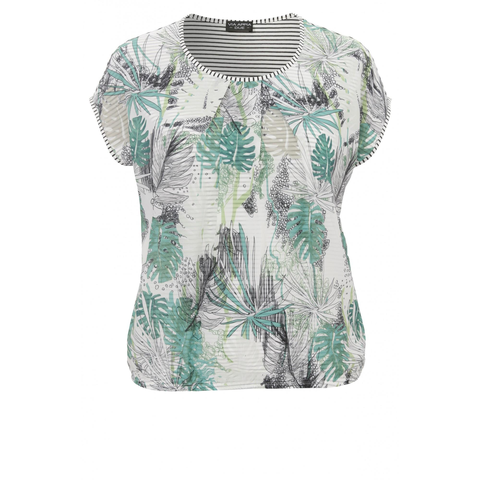 Feminines Shirt mit Mustermix
