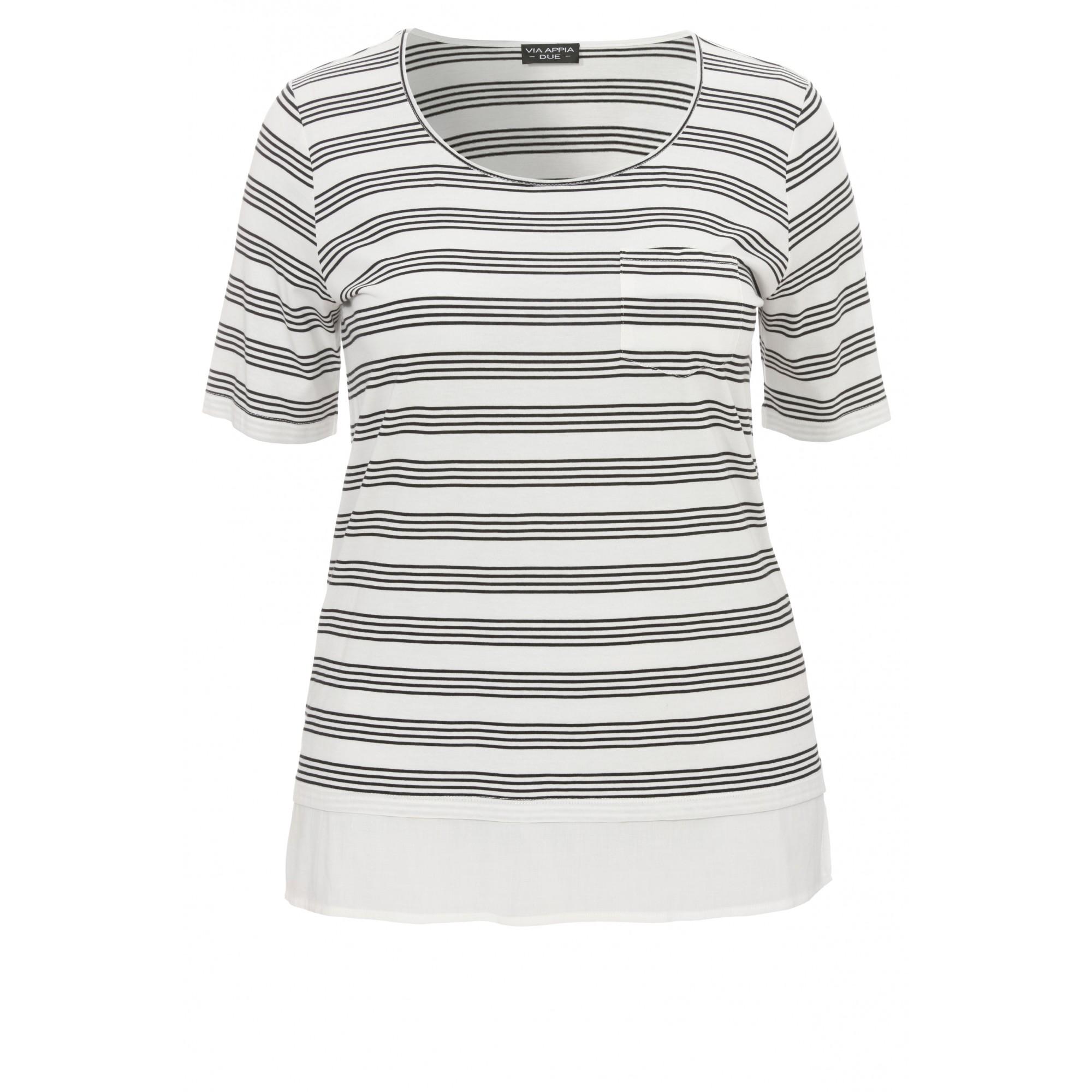 Modisches T-Shirt mit Muster