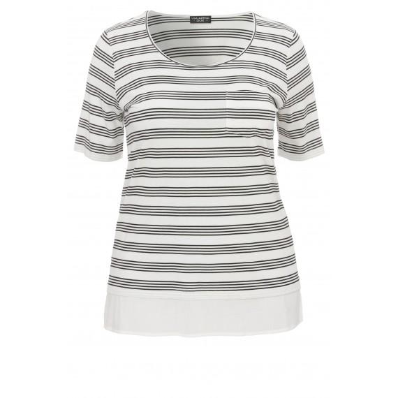 Modisches T-Shirt mit Muster /