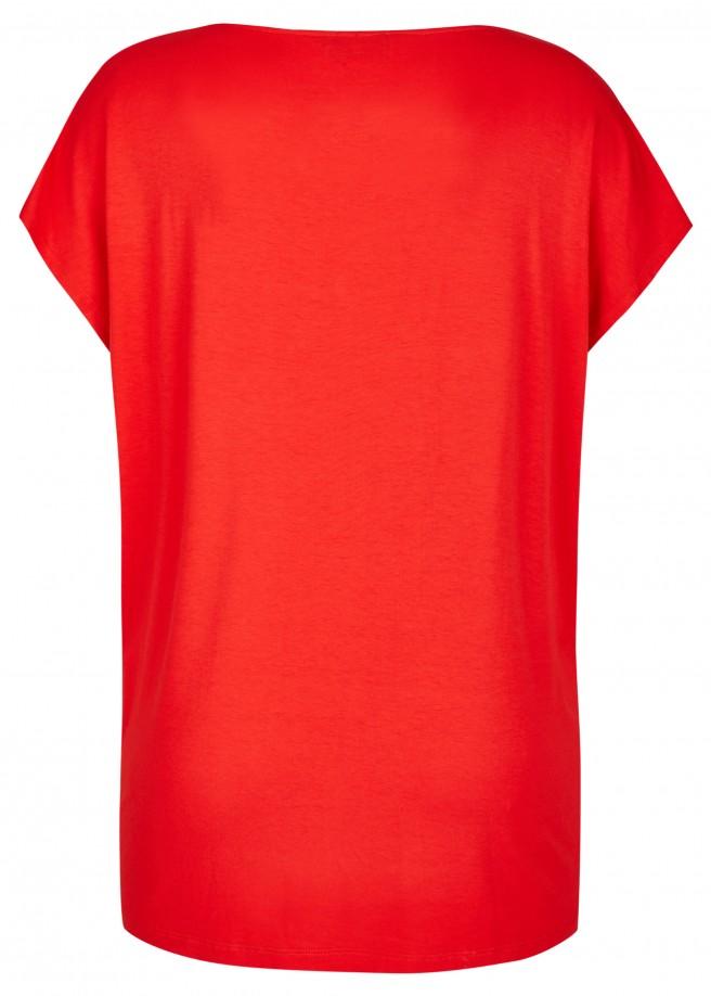 Modisches Shirt mit asymmetrischem Ausschnitt /