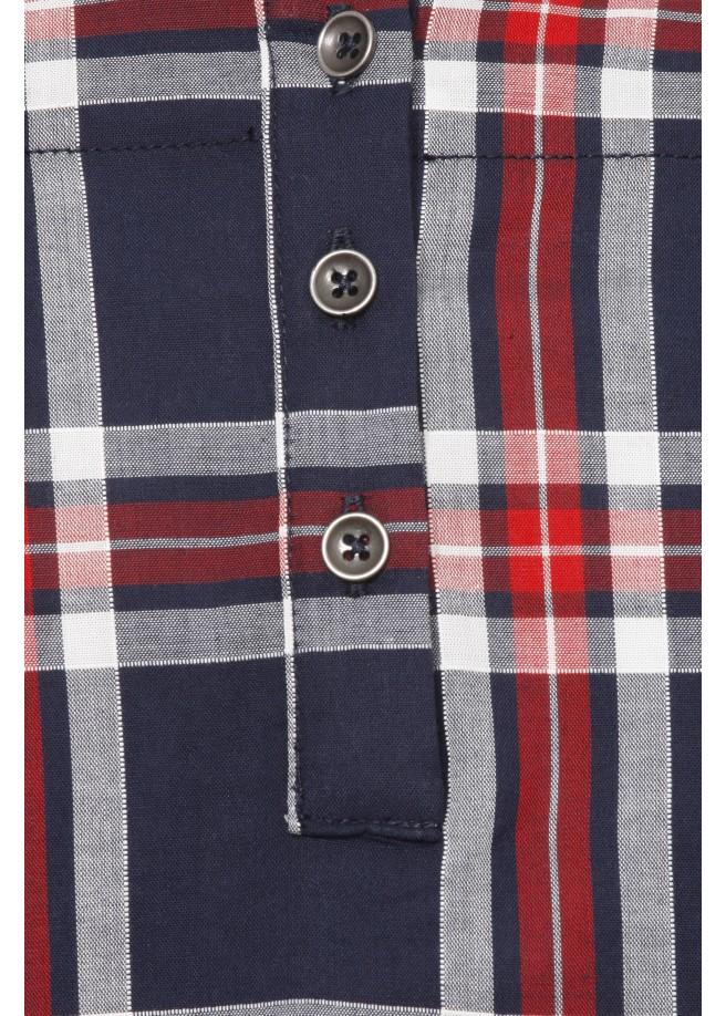 Süßes Blusen-Shirt mit Karo-Muster /
