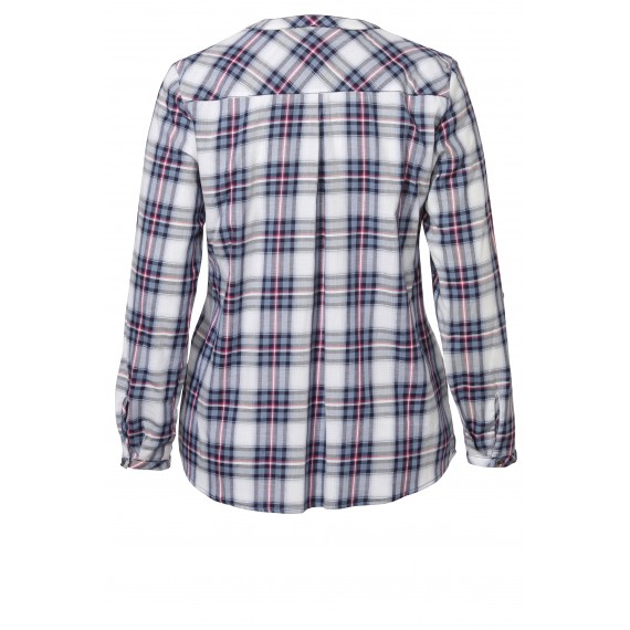 Süße Bluse mit Karo-Muster /