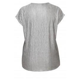 0709694c1a89 Stylisches Shirt mit Glanzeffekt   Stylisches Shirt mit Glanzeffekt