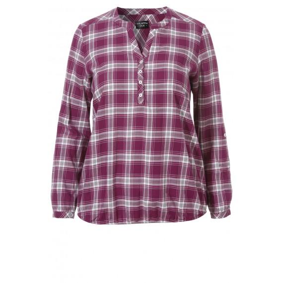 Coole Bluse mit Karo-Muster /