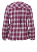 Coole Bluse mit Karo-Muster /