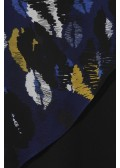 Modische Bluse im Poncho-Look /