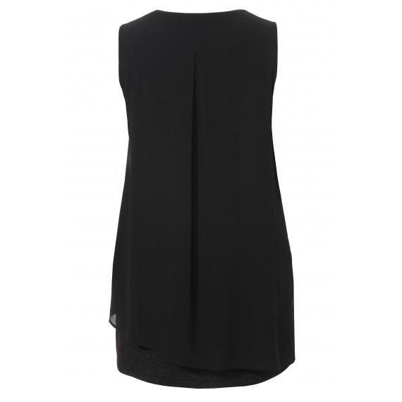Edles Kleid mit Glitzerelementen /
