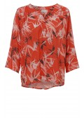 "Hauchzarte Bluse ""Tropical"" /"