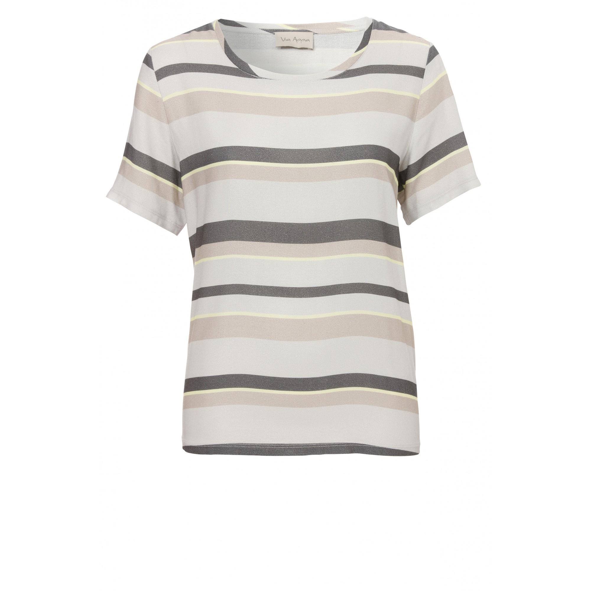 Luftiges Blusen-Shirt mit Streifen