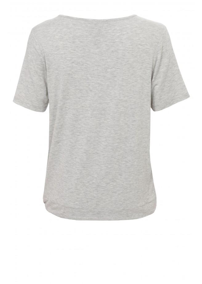 Lässiges Shirt mit Skyline-Print /