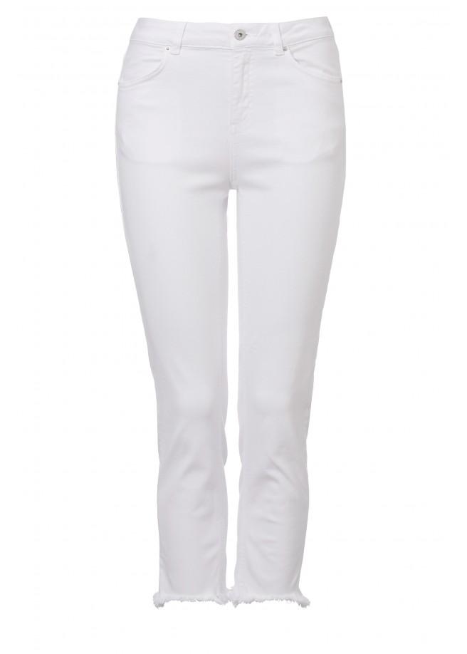 Sommerliche Jeans im 4-Pocket-Stil /