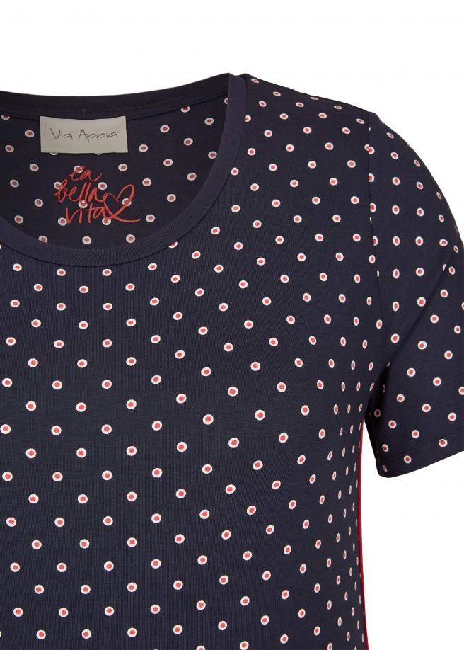 Sportives T-Shirt mit Punkten /
