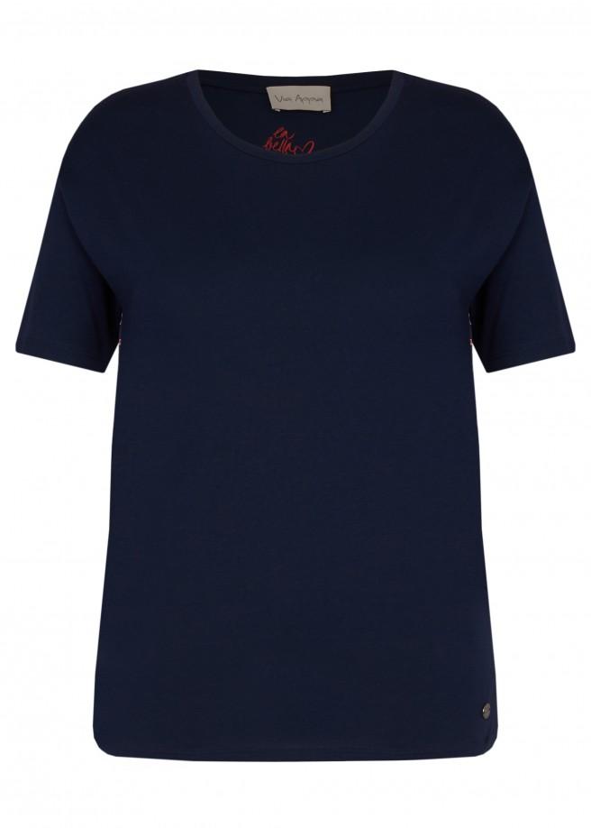 Modernes Blusen-Shirt mit Rückseiten-Motiv /