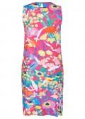 Fröhliches Kleid mit floralem Print /