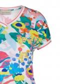 Sportives Shirt mit buntem Print /