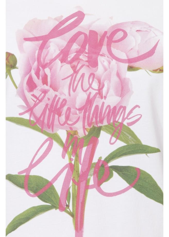 Romantisches Shirt mit Motiv /