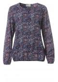 Feminine Bluse mit floralem Print /