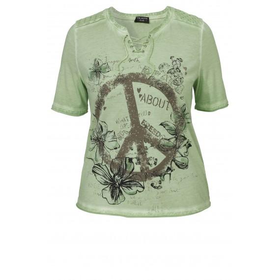 """Verspieltes T-Shirt """"Peace"""" /"""