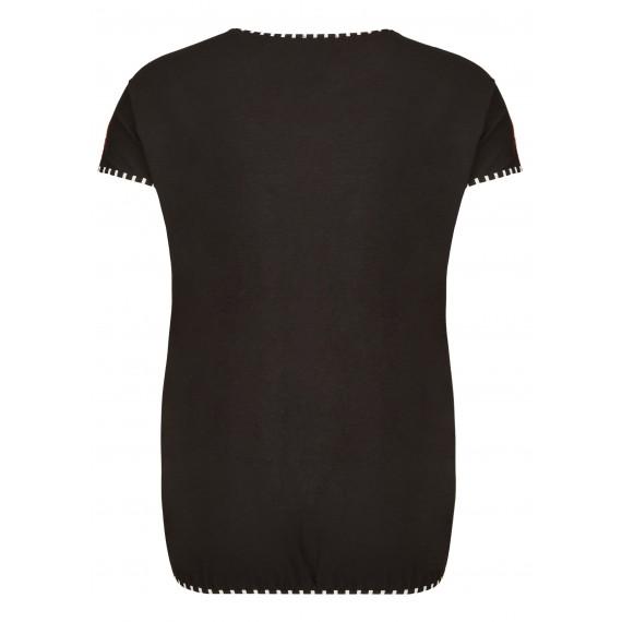 Verspieltes Blusen-Shirt mit Motiv /