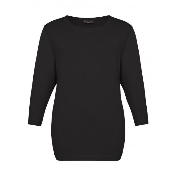 Edles Shirt mit glänzenden Nähten /