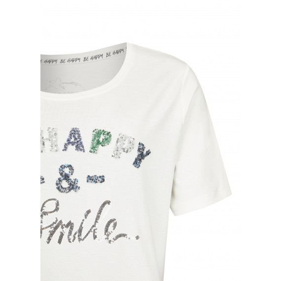 Verspieltes T-Shirt mit Statement /